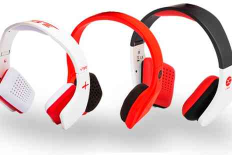 Groupon Goods Global GmbH - One or Two Pairs Vibe Slick Over Ear Headphones in Choice of Design - Save 0%