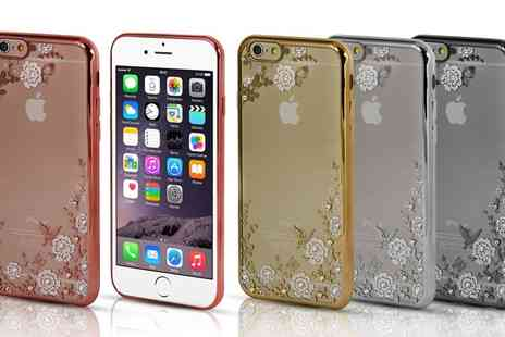 Groupon Goods Global GmbH - Diamante TPU Case for iPhone 5/5S, 6/6S, or 6Plus/6S Plus - Save 0%