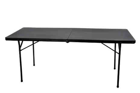 XS Stock - Folding Trestle Table Choose 2 Colours & 2 Sizes - Save 58%