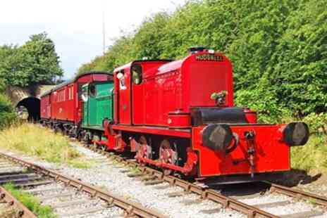Middleton Railway Trust - Return diesel or steam train trip for 2 - Save 33%