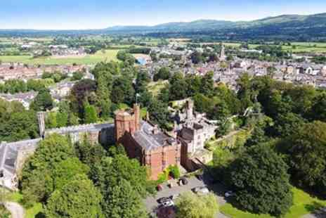 Ruthin Castle Hotel - Welsh castle summer stay including meals - Save 44%