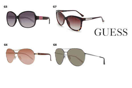 Brand Arena - Pair of Guess sunglasses select from 12 styles - Save 67%