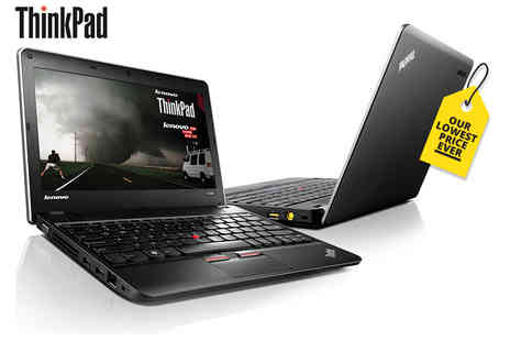 IT trade service - Grade B refurbished 320GB HDD 4GB RAM Lenovo ThinkPad Edge gaming laptop with a 12 month warranty - Save 79%