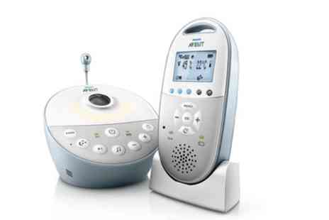 Groupon Goods Global GmbH - Philips Avent DECT Baby Monitor With Free Delivery - Save 12%