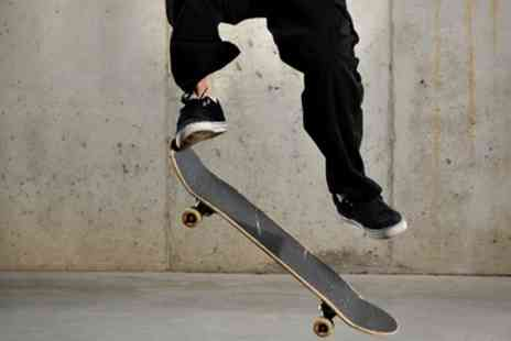 Ramp Skate Park - Two Hour Skateboard, Scooter or BMX Party with Refreshments for Up to 10 or 20 - Save 0%