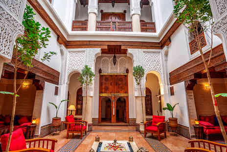 Riad Dar Alhambra - Four Star Authentic Riad Stay for Two near Marrakech Museum - Save 59%