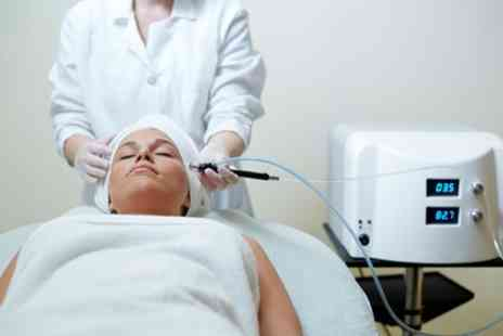 Elia Beauty - One or Three Sessions of Diamond Microdermabrasion with Optional Led Facial Chromatherapy - Save 57%