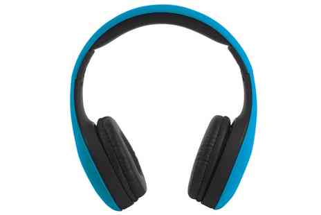 Groupon Goods Global GmbH - Intempo EE0999SBLU Foldable Headphones - Save 0%