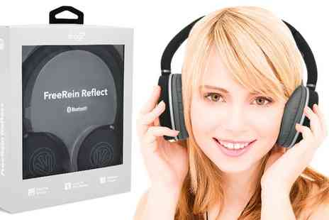 Groupon Goods Global GmbH - One or Two Pairs of iFrogz FreeRein Reflect Bluetooth Headphones - Save 0%