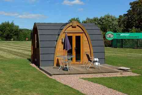 Riverside Stratford Bar & Restaurant - Four night midweek glamping stay for a group of up to four people - Save 51%