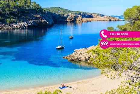 Super Escapes Travel - Five or seven night all inclusive Ibiza break with return flights - Save 27%