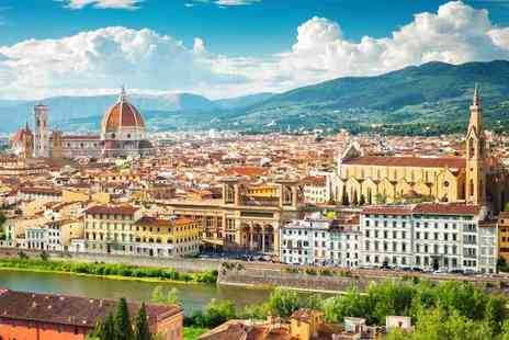 Weekender Breaks - Six or nine night Rome, Florence and Venice stay with return flights and transfers via train - Save 23%
