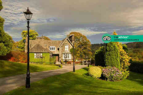 Broadoaks Country House - Five Star Lake District stay with cream tea, four course dinner, breakfast, spa access and late check out - Save 44%