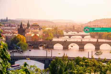 Tour Center - Two or three night 4 Star boutique Prague stay with spa access, breakfast and return flights - Save 48%