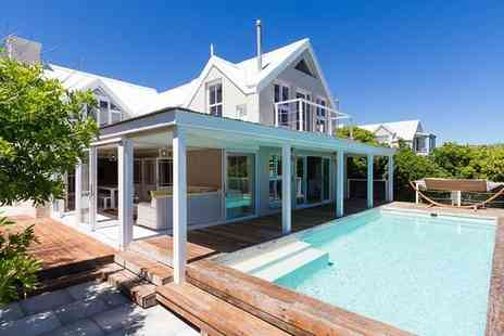 African Trilogy - Three, five or seven night all inclusive luxury Cape Town beach house stay with tours, guides and airport transfers - Save 35%