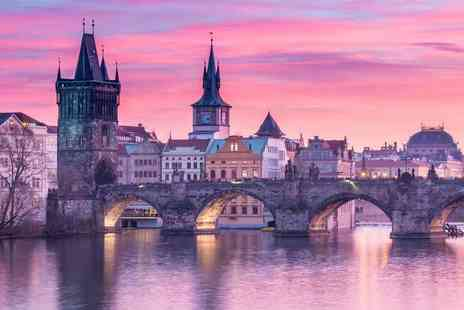 Weekender Breaks - Four night Prague and Berlin trip with two nights in each destination, train transfer and flights or Prague and Budapest trip - Save 47%