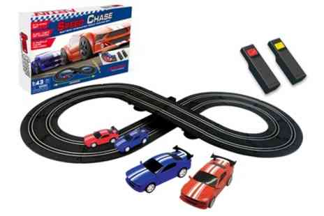 Groupon Goods Global GmbH - Artin Speed Chase Racing Set for Two Players - Save 0%