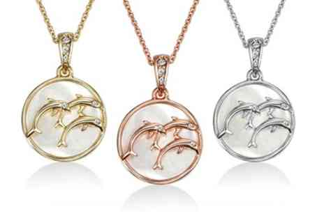 Neverland Sales - One or Two Mestige Maui Necklaces with Crystals from Swarovski With Free Delivery - Save 79%