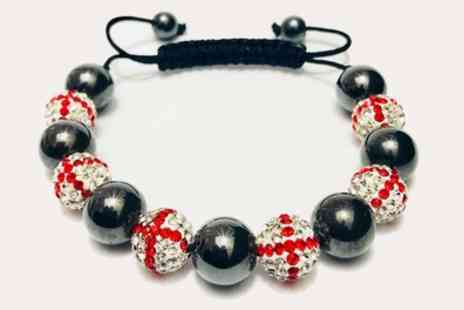 Groupon Goods Global GmbH - World Cup St George Shamballa Bracelet - Save 84%