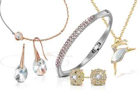 Neverland Sales - Mestige Bracelet, Necklace or Earrings with Crystals from Swarovski With Free Delivery - Save 77%