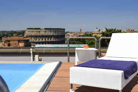 Hotel Mercure Roma Centro Colosseo - Four Star Stylish Contemporary Hotel Stay For Two with Colosseum Views - Save 76%
