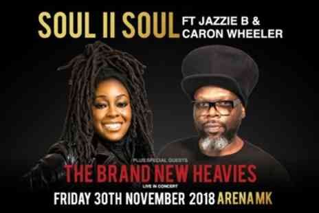 LPH Concerts - Soul II Soul and The Brand New Heavies on Friday 30 November - Save 8%