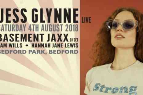 LPH Concerts - One child or adult ticket to see Jess Glynne and Basement Jaxx on Saturday 4 August - Save 8%