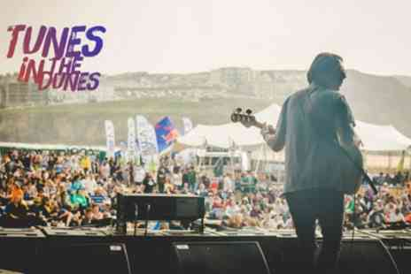 Tunes in the Dunes - One child, adult or family day or weekend ticket to Tunes in the Dunes on 8 To 10 June - Save 37%