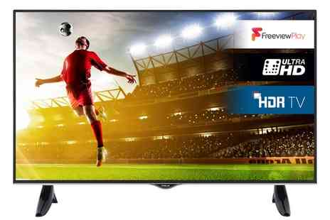Groupon Goods Global GmbH - Finlux 55 Inch 4K HDR Led Smart TV With Free Delivery - Save 0%
