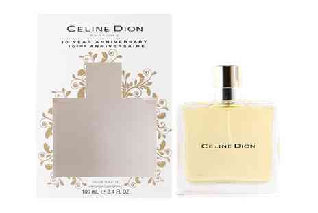 Groupon Goods Global GmbH - Celine Dion 10th Anniversary Edt 100ml Spray for Women - Save 0%