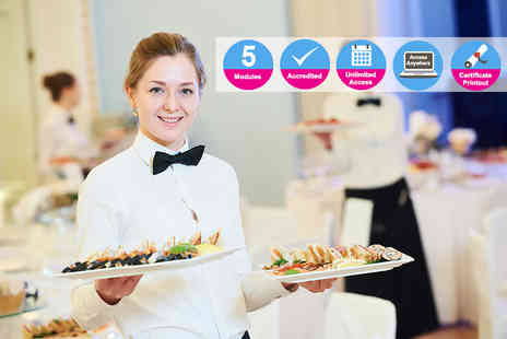 International Open Academy - Accredited professional waiter training course - Save 90%