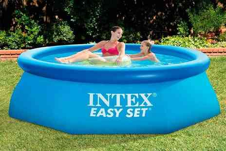Direct 2 public - Intex inflatable swimming pool - Save 64%