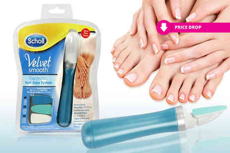 Some More - Scholl Velvet Smooth nail care system - Save 63%