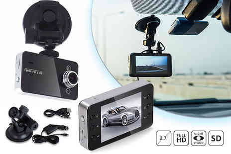 TY Direct - HD 1080p dash accident cam or dash cam with 32GB SD card - Save 88%
