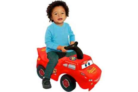 Groupon Goods Global GmbH - Lightning McQueen Foot to Floor Ride On - Save 0%