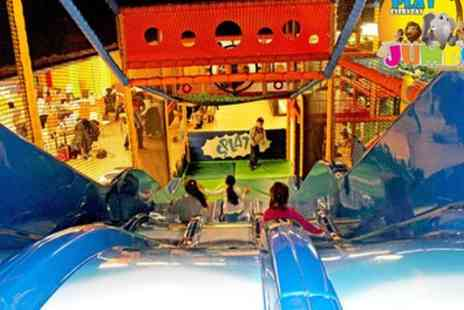Jumbo Fun & Play - Admission to Soft Play Area with Jug of Squash for Two or Four Children - Save 55%