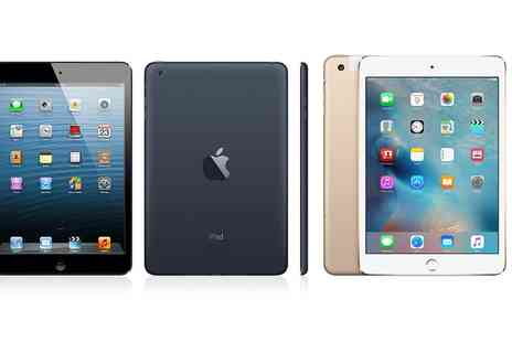 GoldBoxDeals - Refurbished Apple iPad Mini 1 or Mini 3 16 to 64GB Wi Fi or Wi Fi plus 4G Good With Free Delivery - Save 0%