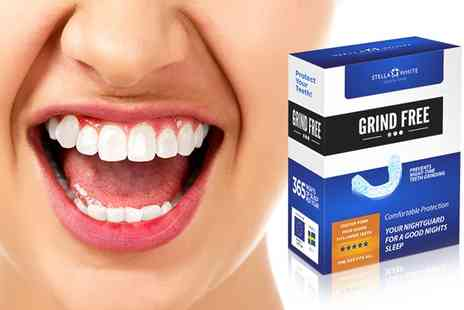 Groupon Goods Global GmbH - Stella White Grind Free Dental Night Guard - Save 0%