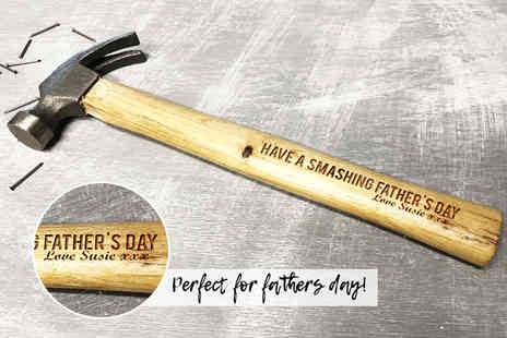 Personalised Gifts Market - Personalised hammer - Save 70%