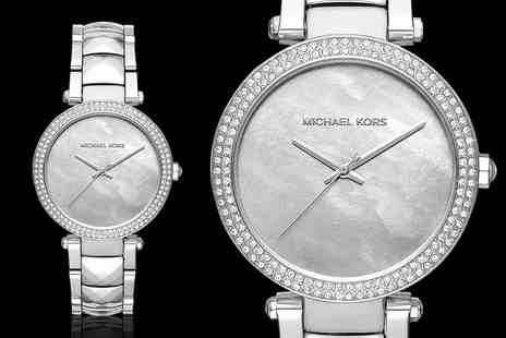 Mimo Deals - Michael Kors stainless steel ladies watch - Save 33%