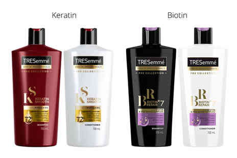 Ckent - 400ml set of Tresemme Pro shampoo and conditioner - Save 69%