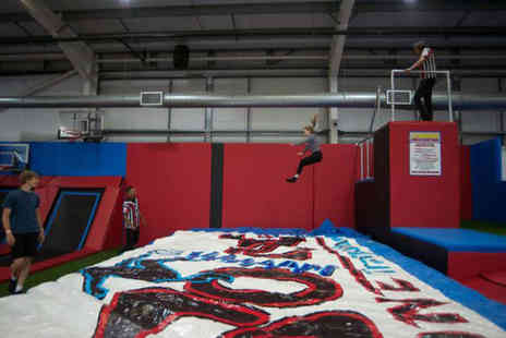 Boing Zone Trampoline Park - One hour trampolining session - Save 0%
