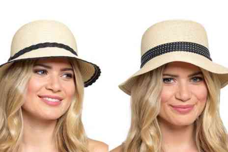 Groupon Goods Global GmbH - One, Two or Three Womens Cloche Hats - Save 76%