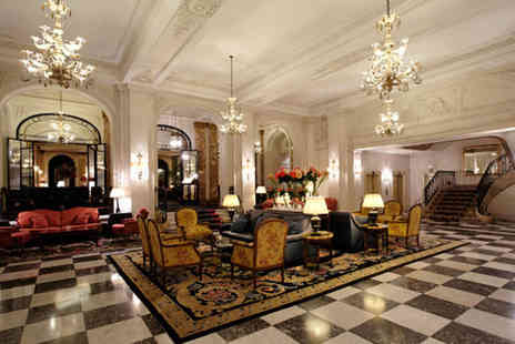 Hotel Le Plaza Brussels - Five Star Hotel Stay For Two in Old World Charm and Elegance - Save 80%