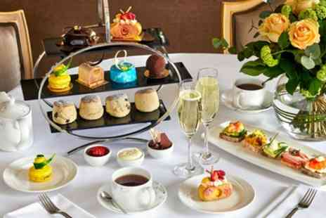 Podium Restaurant and Bar - Five Star Chocoholics Afternoon Tea with Optional Champagne for Two - Save 50%