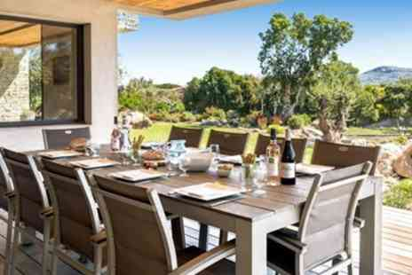 Corsican Places - Luxury summer villa stay with private pool & flights - Save 0%