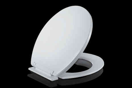 Fusion Homeware - Soft close toilet seat - Save 70%