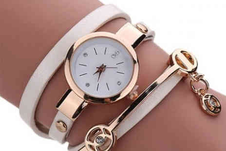 Yepko - Anna snake strap watch - Save 80%
