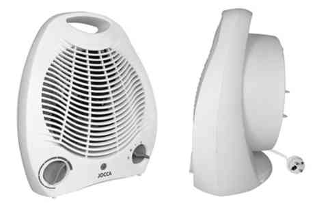 Groupon Goods Global GmbH - One or Two 2000W Fan Heaters - Save 50%