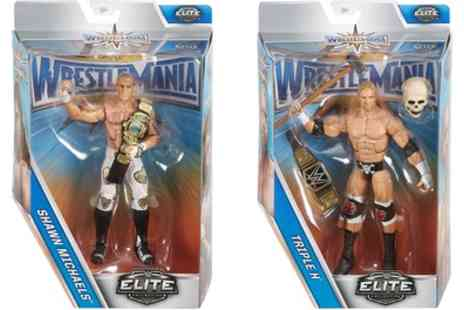 Groupon Goods Global GmbH - WWE Wrestemania Elite Two Pack of Triple H and Shawn Michaels Figures - Save 0%